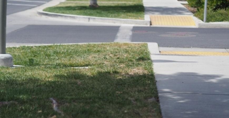 sidewalk turf